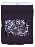 Blue Decoration Light Duvet Cover