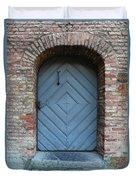 Blue Door Duvet Cover