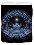 Blue Eye Sphere Duvet Cover by David Kleinsasser