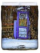 Blue Gate #24 Duvet Cover