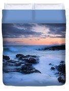 Blue Hawaii Sunset Duvet Cover