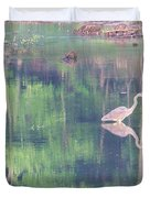 Blue Heron6 Duvet Cover