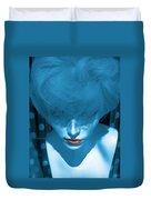 Blue Kiss Duvet Cover
