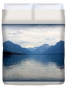 Blue Lake Mcdonald Duvet Cover