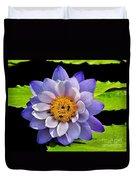 Blue Lily Duvet Cover