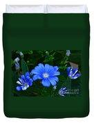 Blue Magic Duvet Cover by Byron Varvarigos