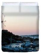 Blue Marina Paros Duvet Cover