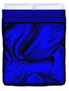 Blue Morass Duvet Cover