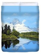 Blue Morning Duvet Cover