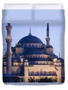 Blue Mosque Exterior Duvet Cover