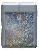 Blue Nebula #1 Duvet Cover