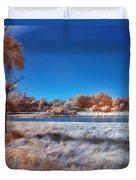 Blue Pond Duvet Cover
