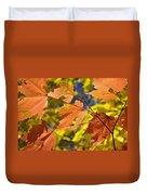 Blue Ridge Autumn Leaves 1.0 Duvet Cover