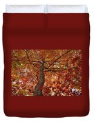Blue Ridge Autumn Leaves 1.3 Duvet Cover