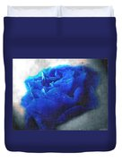 Blue Rose Duvet Cover