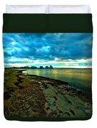 Blue Shores Duvet Cover