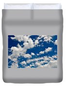 Blue Sky And Clouds Duvet Cover