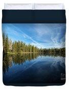 Blue Sky Art Duvet Cover
