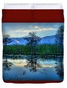 Blue Sunset Duvet Cover