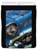 Blue Thunder - Classic Antique Car- Detail Duvet Cover