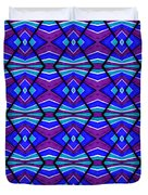 Blue Turquoise And Purple Duvet Cover