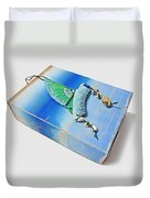 Blue Water Sailing Duvet Cover