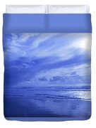 Blue Waterscape Duvet Cover