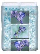 Bluebell Triptych Duvet Cover