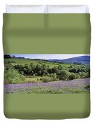 Bluebells In A Field, Sally Gap, County Duvet Cover
