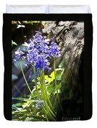 Bluebells In The Woods Duvet Cover