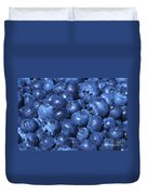 Blueberries With Waterdrops Duvet Cover