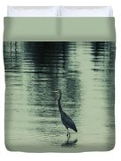 Bluegreen Lake Duvet Cover