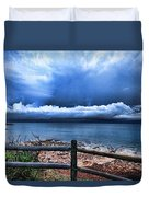 Bluer On The Other Side Duvet Cover