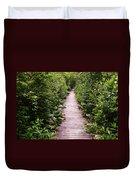 Boardwalk Swamp Duvet Cover