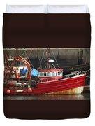 Boat 0001 Duvet Cover