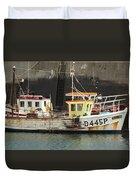 Boat 0002 Duvet Cover
