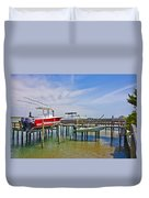 Boat Caddy Duvet Cover