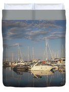 Harbor Cams Duvet Cover
