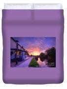 Boat Inn Sunrise 1.0 Duvet Cover