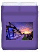 Boat Inn Sunrise 2.0 Duvet Cover