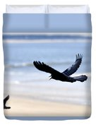 Boat-tailed Grackle - D006732 Duvet Cover