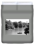 Boats On The Water Duvet Cover