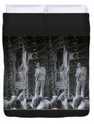 Bob Weir Grateful Dead 74 Dsm Ia Duvet Cover