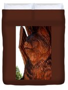 Bobcat Closeup Duvet Cover