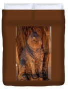 Bobcat Reflections Duvet Cover