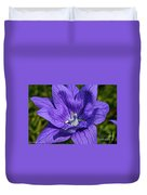 Bodacious Balloon Flower Duvet Cover