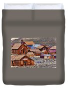 Bodie Ghost Town California Duvet Cover