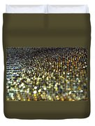 Bokeh Bling Watercolor Photoart Duvet Cover