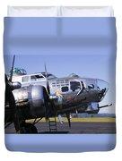 Bomber Sentimental Journey Duvet Cover