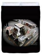 Bomber Style Model A Duvet Cover